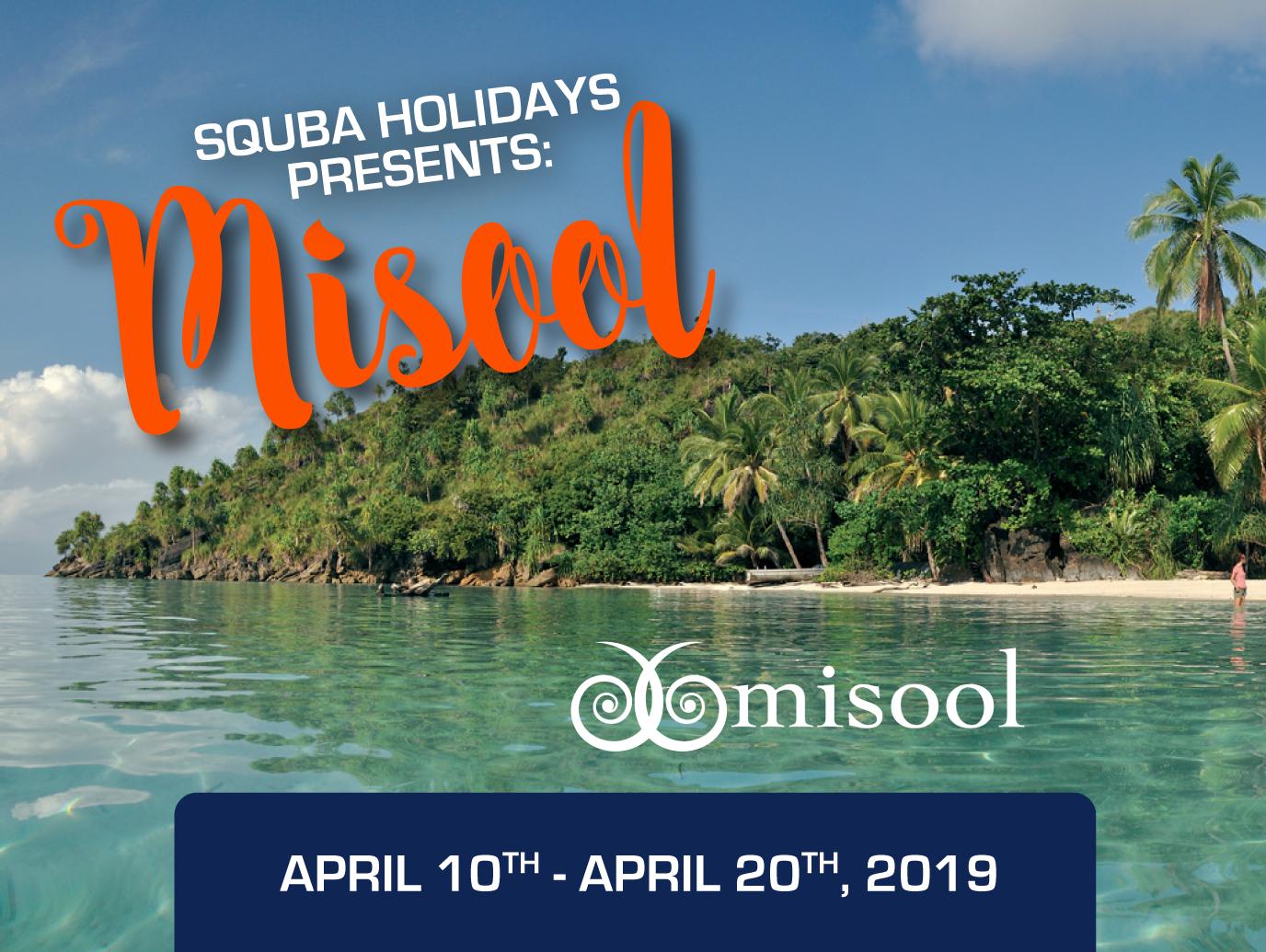 Squba Holidays Misool Tour
